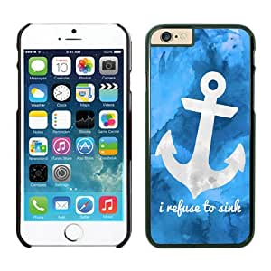 Art Anchor Apple Iphone 6 Plus 5.5 Inches Case Black Cell Phone Cover 1
