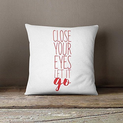 Soft throw pillowcase printed accent pillowcase modern cushion cover quote throw pillow cover red decorative pillow case unique guestroom pillowcase homce décor gift for her