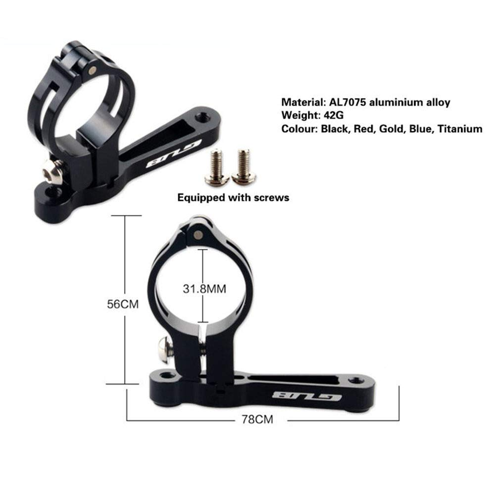 Gub Bike Bottle Cage Mount Adapter Adjustable Bicycle Water Bottle Holder Handlebar Seatpost Adapter for MTB Mountain Road Bikes