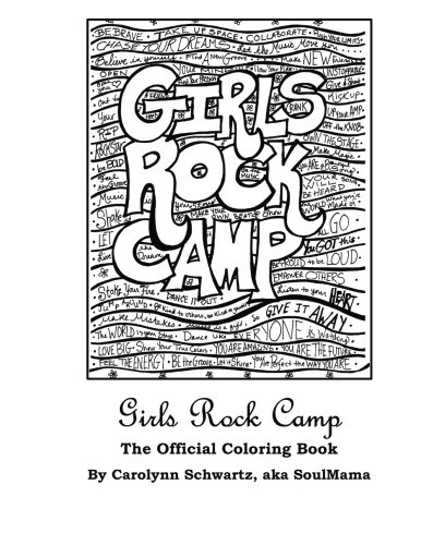 Camp Books Rock Activity (Girls Rock Camp: The Official Coloring Book)