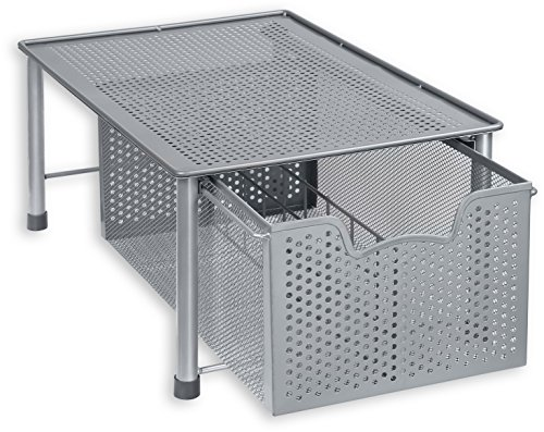 Stackable Cabinet Basket Drawer Organizer