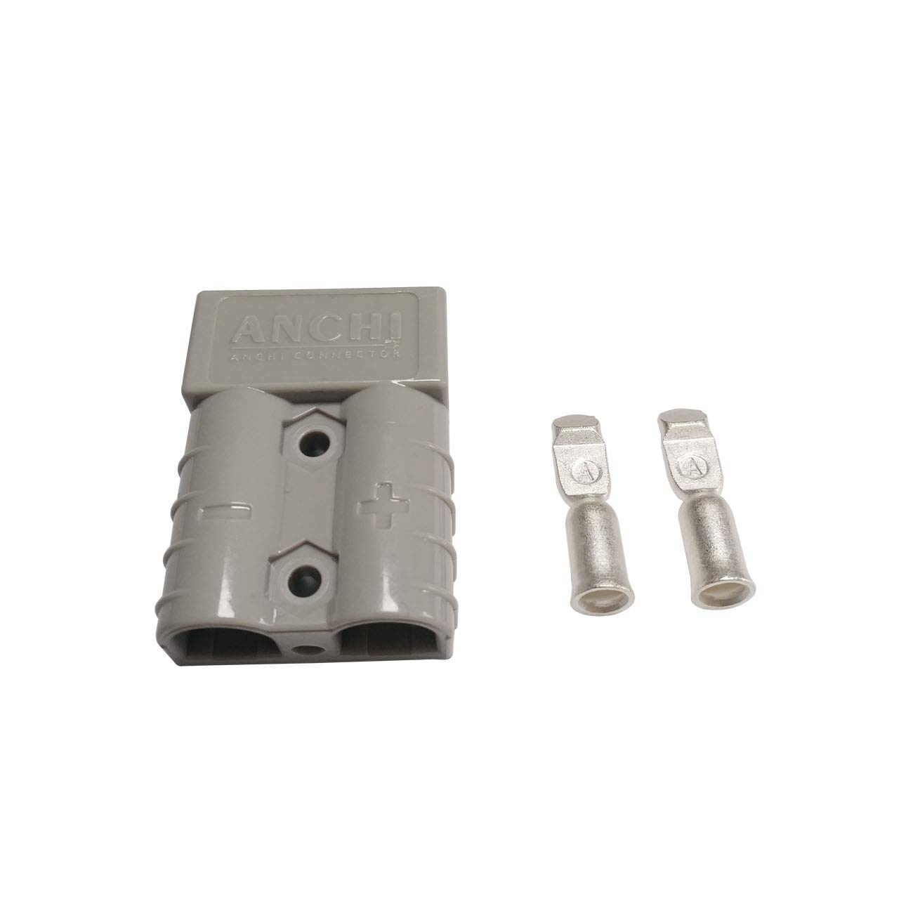 50Amp Power Connector Plug 50A Quick Connect Disconnect 600 V 10 Pairs Grey, 10//12awg for Anderson 50Amp 20pcs
