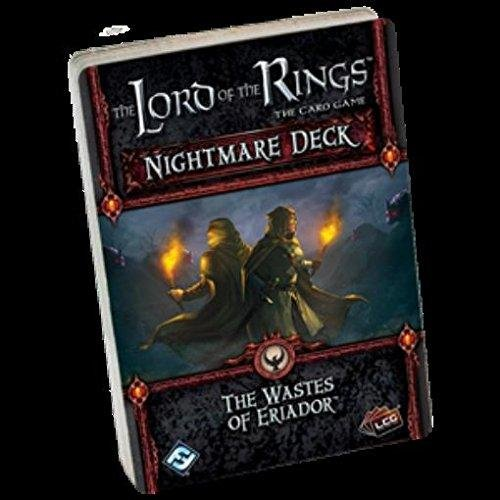 The Lord of the Rings Card Game Nightmare Deck The Wastes of Eriador (Deck Waste)