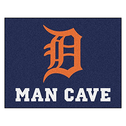 (Fanmats 22408 Mlb-Detroit Tigers Man Cave All-Star Mat)