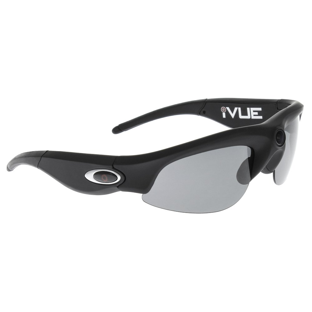 Amazon.com : 16GB iVUE Crossfire 720P HD Action Camera Glasses Sport POV Video Recording DVR Eyewear (Black, 140° Wide Angle Lens) : Camera & Photo