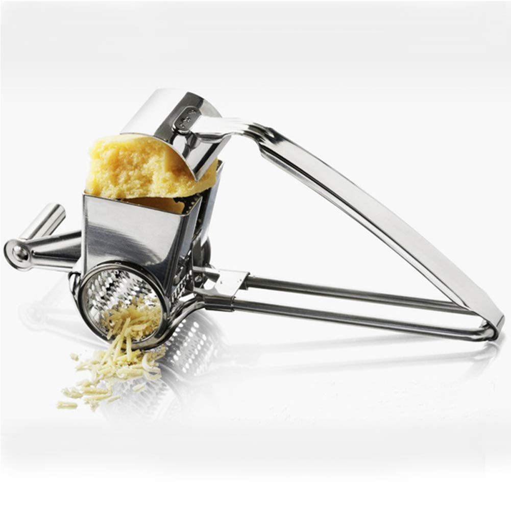 Kitchen Rotary Cheese Grater/Cheese Grater Shredder-Stainless Steel