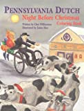 Pennsylvania Dutch Night Before Christmas Coloring Book