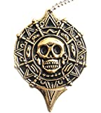 Pirates des Caraibes Piece Azteque Collier + Couteau