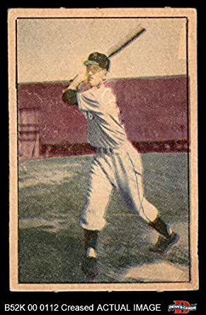 Amazoncom 1952 Berk Ross Don Mueller New York Giants