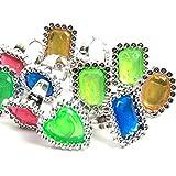 Pirate Treasure Jewel Ring (12 rings)