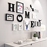 Collage picture frame wall photo frames Photo Wall, Living Room Bedroom Creative Photo Wall European Style Combination Frames Simple Modern (9)