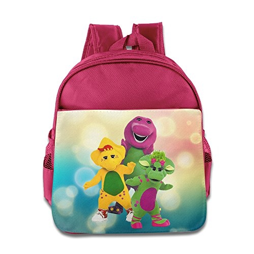Barney And Friends Children Stylish Lunch Kit School Bag (Barney Lunch)