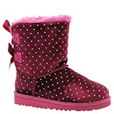 UGG Kids' Bailey Bow Starlight Lonely hearts Sheepskin 2 Medium