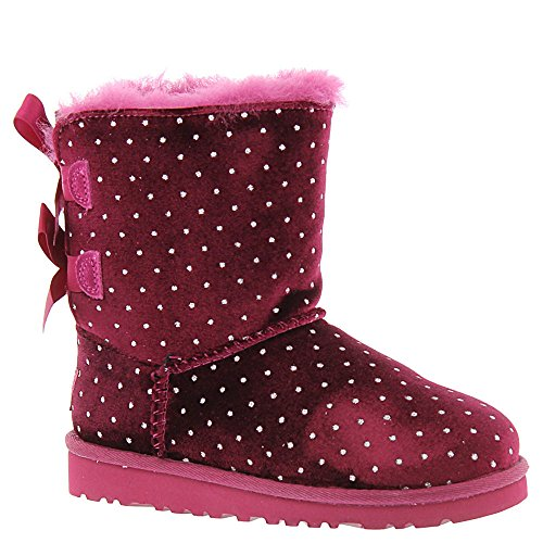UGG Kids' Bailey Bow Starlight Lonely hearts Sheepskin 2 Medium by UGG