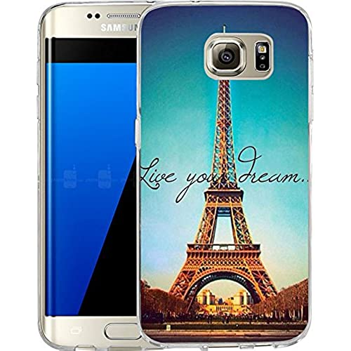 Galaxy S7 Edge Case Samsung Galaxy S7 Edge Case TPU Non-Slip High Definition Printing Like you Dream Sales