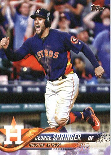 2018 Topps #275 George Springer Houston Astros Baseball Card