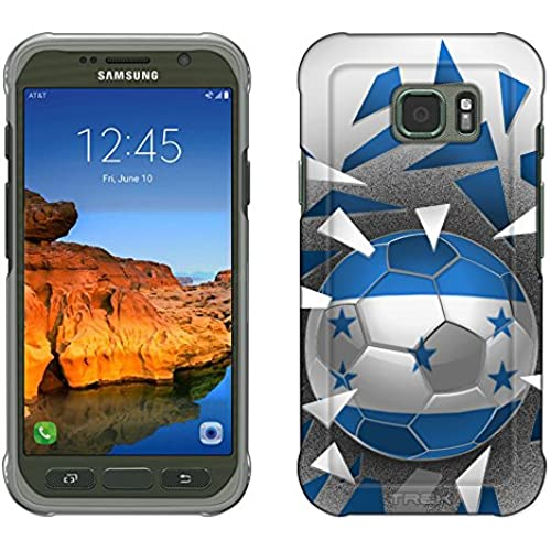 Samsung Galaxy S7 Active Case, Snap On Cover by Trek Soccer Ball Honduras Slim Case Sales