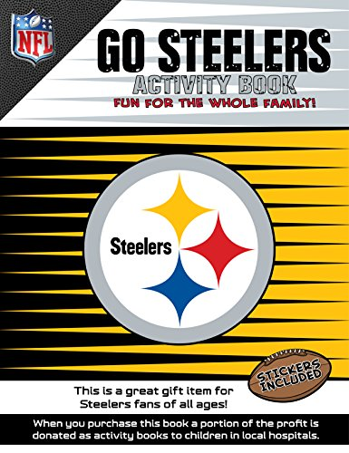 (In The Sports Zone NFL Pittsburgh Steelers Activity Book/Yellow/Black/One Size)