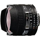 Nikon AF FX Fisheye-NIKKOR 16mm f/2.8D Fixed Zoom Lens with Auto Focus for Nikon DSLR Cameras International Version (No warranty)