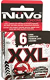 Nuvo Condoms XXL Large Lubricated Condoms, 6-count (Pack of 4), Health Care Stuffs