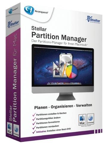Stellar Partition Manager für Mac