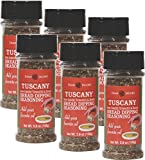 Dean Jacob's Tuscany Bread Dipping Seasoning ~ 3.8 oz.(Pack of 6)