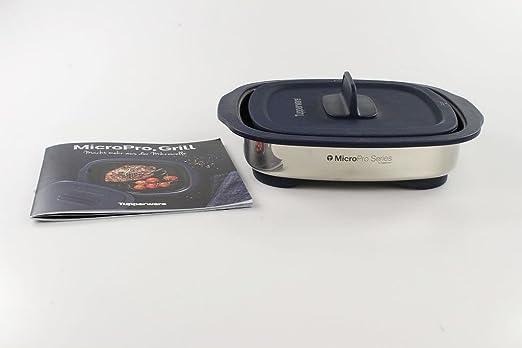 Tupperware MICR OPro Barbacoa Color Azul Oscuro Microondas de ...