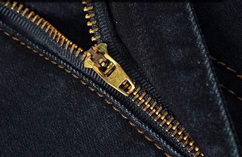 Denim E Wild Adelina Confortevoli Pantaloni Ssig Fat Dritti Uomo Blackblau Abbigliamento Stretch Guys Larghi Jeans In 6qvrEqxA