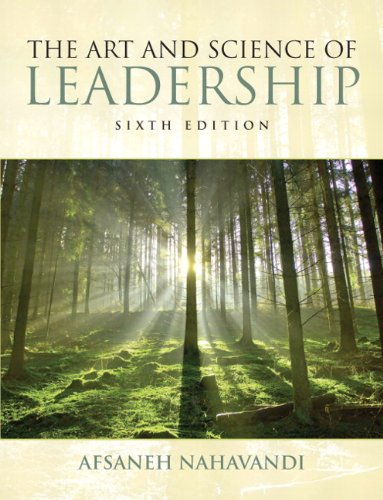 The Art and Science of Leadership (6th Edition) by Pearson