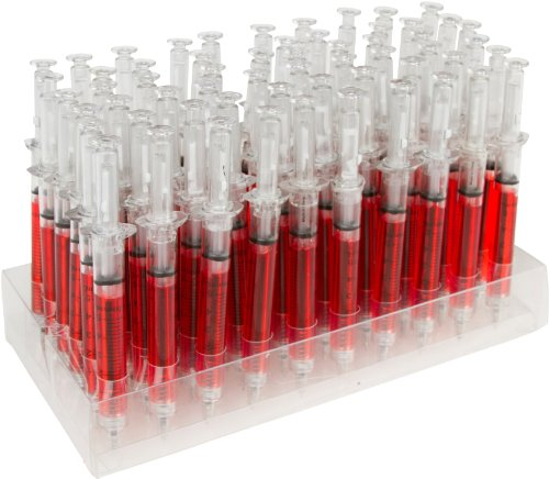 Allures & Illusions Syringe Pen (60-Pack), Red
