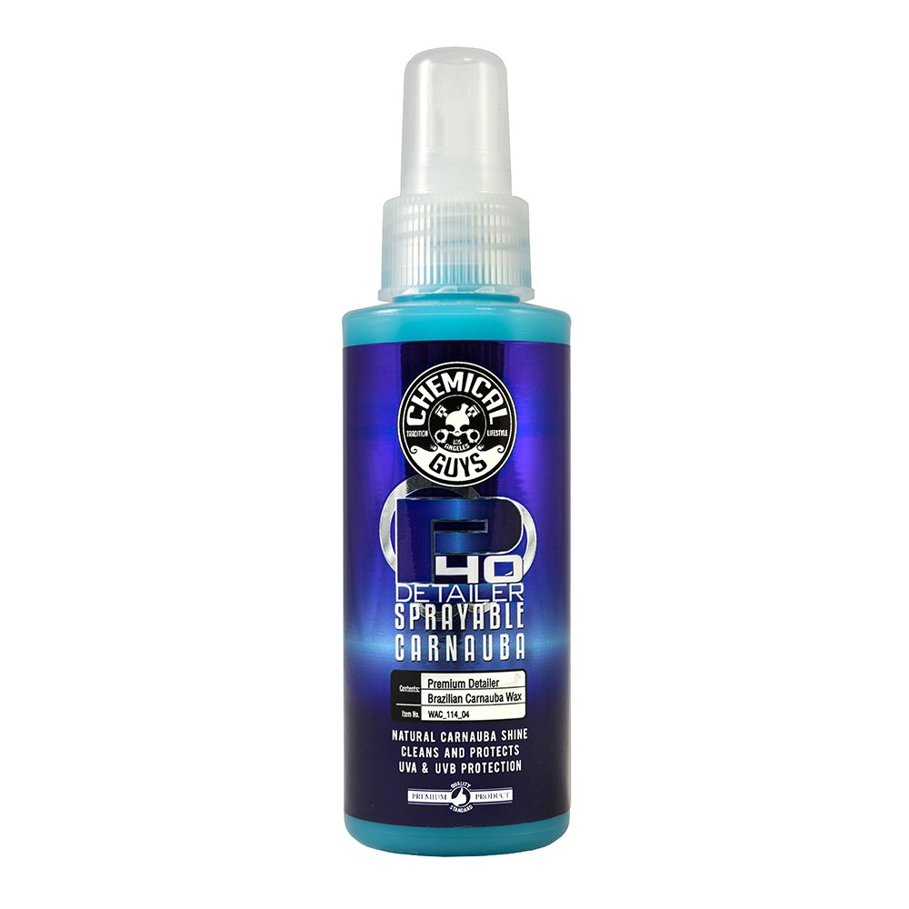 Chemical Guys WAC_114_04 P40 Detailer Spray with Carnauba, 4 fl. oz.