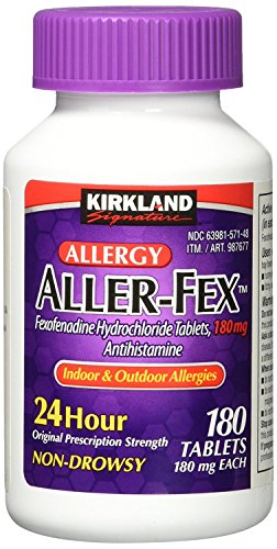 Kirkland Signature Aller-Fex , 180 mg 360 Tablets