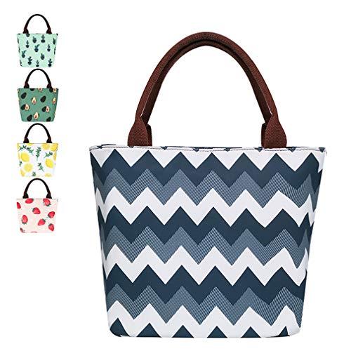 Stripe Lunch Bags Women