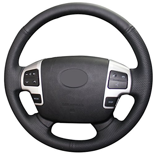 - Loncky Genuine Leather Auto Custom steering wheel covers for 2008-2015 Toyota Land Cruiser / 2007 2008 2009 2010 2011 2012 2013 Toyota Tundra / 2008 2009 2010 2011 2012 2013 Toyota Sequoia Accessories