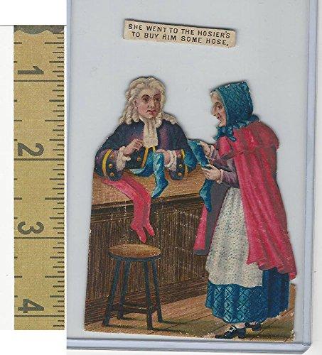 Victorian Diecuts, 1890's, Culture & People, (40) Nursery Rhyme