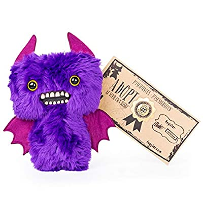 Fugglers, Funny Ugly Monster, 9 Inch Count Fuggula (Purple) Plush Creature with Teeth, for Ages 4 and Up: Toys & Games