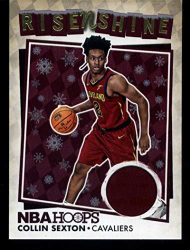 2018-19 Panini Hoops Rise N Shine Memorabilia Winter #8 Collin Sexton MEM Cavaliers Basketball NBA from Hoops