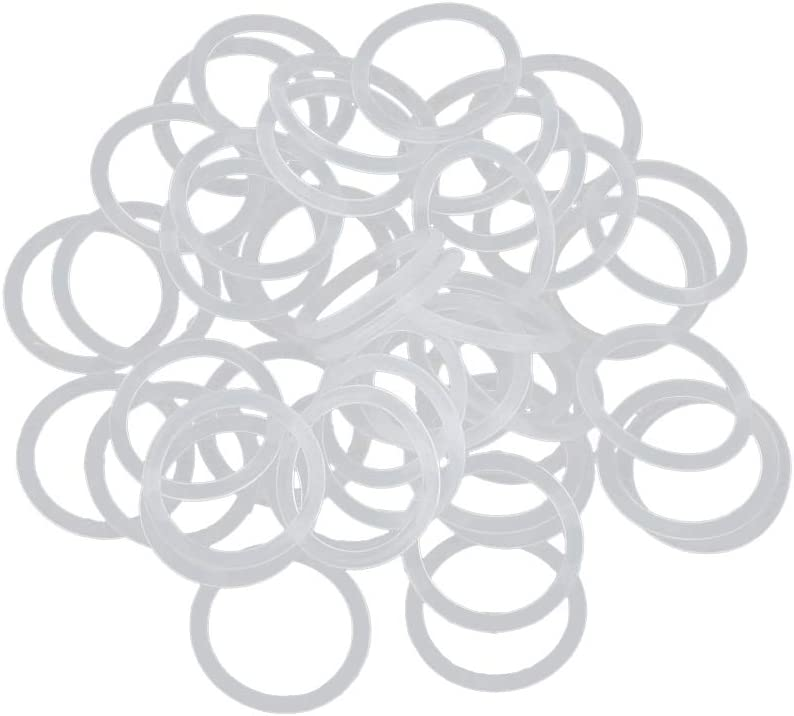 Auto Silikonkautschuk O-Ring Dichtung Scheibe Dichtungsring 16 x 1,5mm sourcing map 50Stk