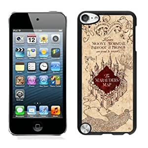 Attractive Case Harry Potter Marauders Map iPod Touch 5 Case in Black