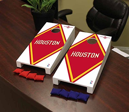 Victory Tailgate Houston Rockets NBA Basketball Desktop Cornhole Game Set Diamond Version by Victory Tailgate