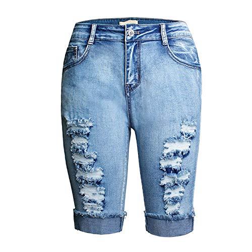 Women Denim Knee Length Shorts ()