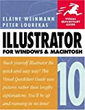 Illustrator 10 for Windows and Macintosh, Elaine Weinmann and Peter Lourekas, 020177321X