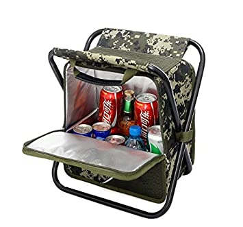 Equipt Multifunctional Camping Chair Collapsible Cooler Seat Makes it Easy to Carry Made from Insulating Durable Material