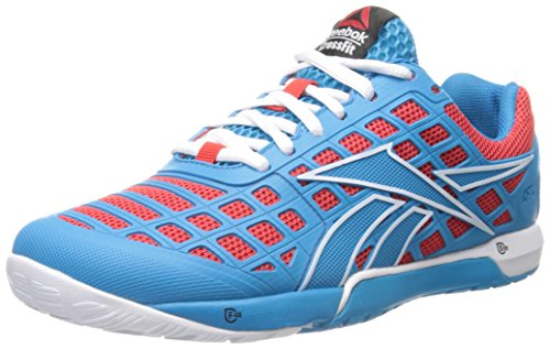 Reebok Women's Crossfit Nano 3.0-w, Blue Bomb/China Red/White, 9.5 M US