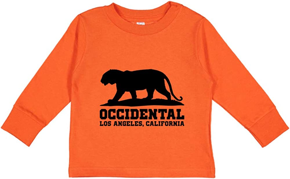 NCAA Occidental Tigers CE2DJ01 Toddler Long-Sleeve T-Shirt