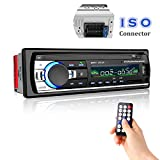 Car Stereo with Bluetooth, Cavogin Universal In-Dash Single Din Car Radio Receiver MP3 Player / USB / SD Card / AUX / FM Radio with Remote Control