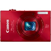 Canon PowerShot ELPH 520 HS 10.1 MP CMOS Digital Camera with 12x Optical Image Stabilized Zoom 28mm Wide-Angle Lens and 1080p Full HD Video Recording (Red) Benefits Review Image