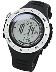 [LAD WEATHER] Swiss sensor Altimeter Barometer Digital Compass Weather Forecast Step/ Mountain data Watches