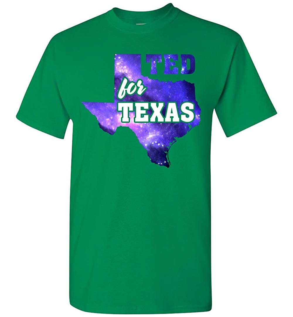 shopdoz Ted for Texas Shirt for Ted Cruz Election Support T-Shirt