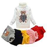 Kyпить TUTUYU Kids Beer Turtleneck Sweater Boys Girls Knit Sweater for Christmas White US 3T на Amazon.com